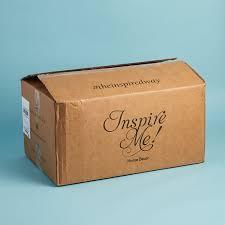 Home Decor Subscription Box Inspire Me Home Decor Subscription Box Review December 60 My 44