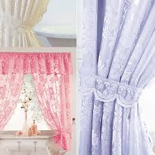 white lace shower curtain. Windsor Lace Shower Curtains, Liner, Tie Backs White, Cream, Lilac, Pink White Curtain E
