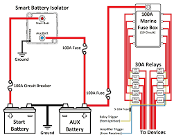smart battery isolator dual battery wiring diagram dual battery wiring diagram camper at Wiring Diagram For Dual Batteries