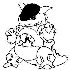 Small Picture Coloring Pages Pokemon Kangaskhan Drawings Pokemon