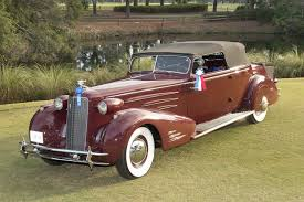 1934 cadillac victoria convertible coupe takes best in show at hilton head
