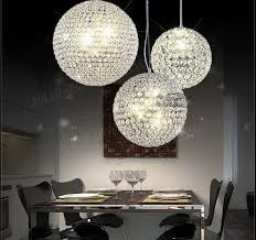 incredible new crystal ball ceiling light chandelier pendant lamp intended for prepare 11