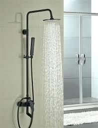 image of oil rubbed bronze handheld shower head set best unique