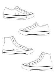 Kleurplaat Schoenen Thema Schoenen Schoenen Kleurplaten Y Kleding