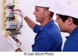 stock images of electrical safety inspectors verifying central electrician inspecting fuse box electrical inspectors at work