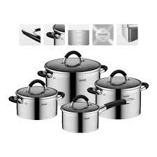 <b>Набор посуды</b> для приготовления <b>NADOBA</b>, Olina, 4 предмета ...
