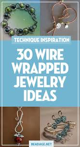 30 wire wrapped jewelry ideas diy jewelry making ideas beading ideas handcrafted
