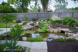 Garden Ponds Designs Stunning Koi Pond Water Gardens Backyard Ecosystem Ponds By Aquascape
