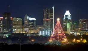 Christmas Lights Austin Tx The Zilker Park Christmas Tree In Austin Texas This Is A
