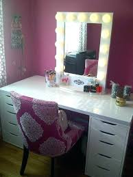 mirrors full size of vanity mirror set with lights setup elegant queen budget furniture for