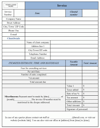Sample Invoice For Consulting Services Sample Invoice For Consulting Services Sample Customer