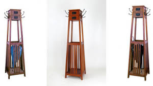 Mission Style Coat Rack Shelf Extraordinary Free Standing Coat Rack With Storage Amazing Unusual Furniture