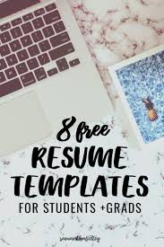 25 Unique College Resume Template Ideas On Pinterest Cv Skills