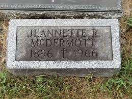 Jeannette Radley McDermott (1896-1966) - Find A Grave Memorial
