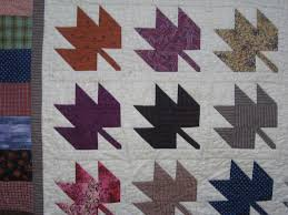 klein meisje quilts: October 2006 & Judy and others have been posting maple leaf quilts. I have made two, this  is the first, made about 8 years ago--one that got away without a label. Adamdwight.com