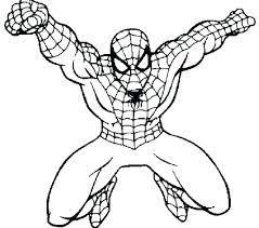 Spiderman Coloring Sheet Trustbanksurinamecom