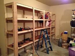 storage shelf plans. Fine Storage How To Build Sturdy Garage Shelves Step By Instruction Enough  Double As A Jungle Gym For Your Kids   Diy Pinterest Garage  Throughout Storage Shelf Plans