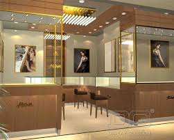 JE40 High End Fahion Jewellery Store LayoutGuangzhou Dinggui Best Jewelry Store Interior Design Plans
