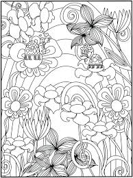 Flower Garden Coloring Pages As Well As Flower Garden Coloring Pages