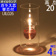 Ginnofune Glass Candle Oil Lamp Cool Floating Bottle Olc 02 Type