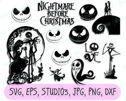 794 x 836 jpeg 123 кб. Nightmare Before Christmas Svg Nightmare Before Christmas Etsy