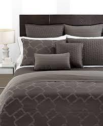 hotel collection bedding gridwork