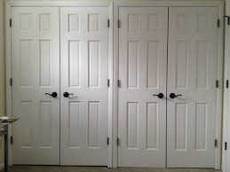 good double closet door image design modern size gallery home depot menard ball catch rough opening that open out with mirror won t close frame