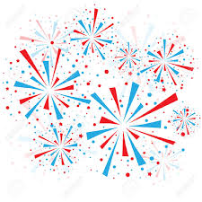 red white and blue fireworks clipart. Download This Image As Intended Red White And Blue Fireworks Clipart Clker