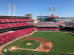 Great American Ball Park Section 531 Row H Seat 14