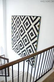 rug hangers for wall how to hang a rug on a wall via rug wall hangers
