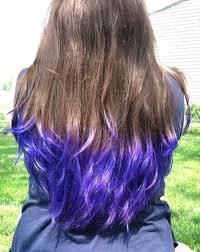 Blue Dip Dye On Light Brown Hair 5 Best Brown Hair Color Ideas Pruitts Dip Dyed Hair More