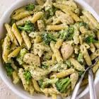 broccoli chicken pesto pasta