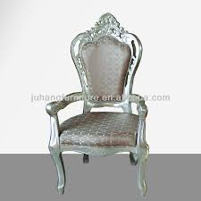 king and queen throne chairs for hotel for wedding babnquet eleglant glassy style whole king and queen throne chairs gany king chair