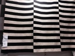 ikea stockholm rug the black striped