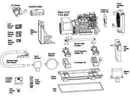 Motor Coach Generator Parts Diagram Generator Parts