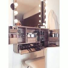 wall makeup organizer best wall mounted makeup organizers images on dressing tables bedroom ideas and vanity wall makeup organizer