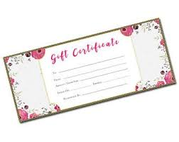 Plain Gift Certificate Template Beach Gift Certificate Beach Blank Gift Certificate Gift Etsy