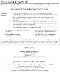 Nurse Practitioner Resume Samples Nurse Practitioner New Grad Nurse