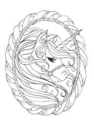 Unicorn Coloring Pages Free Printable Unicorn Coloring Pages For