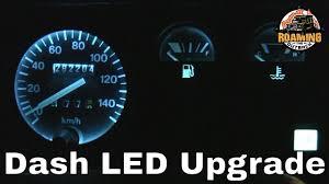 Defender Courtesy Light Switch Land Rover Defender Led Dash Lighting Upgrade Installation And Review