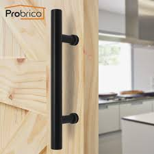 Office door handles Long Probrico Glass Office Large Door Handles Pulls Black Stainless Steel Hollow 74 Imall Probrico Glass Office Large Door Handles Pulls Black Stainless Steel