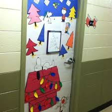 christmas door decorations for office. Fine Decorations Online Christmas Door Themes Home Decoration Ideas Charlie Brown Theme  I Made At School With Christmas Door Decorations For Office