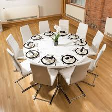 large round dining table design