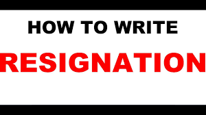 Sample Resignation Letter Tagalog Resignation Letter Sample Video