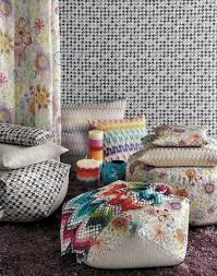 missoni home  poufs missoni home on missoni online store