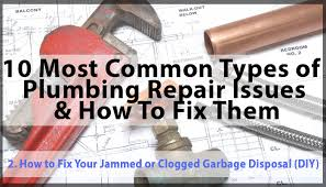 mon types of plumbing problems how to fix