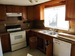 painting laminate cabinets before and after lovely painted kitchen refinish refacing with wood