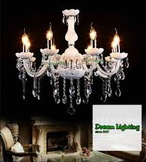 8 arm full crystal chandeliers lights fixture ceiling light crystal glass