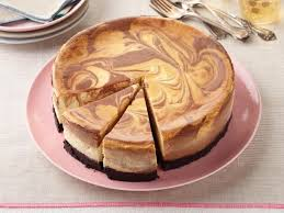 chocolate marble cheesecake. Fine Marble ChocolateButterscotch Swirl Cheesecake Recipe  Food Network Kitchen  Throughout Chocolate Marble L