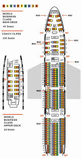 747 8 Intercontinental Seating Chart 21 Meticulous Cathay Pacific Seating Chart 744